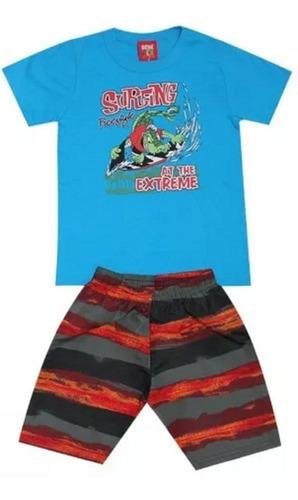roupa menino infantil roupas kit com 6 conjuntos sortidos