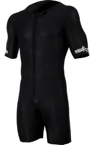 roupa neoprene queima gordura perda peso sauna suit c/ ziper