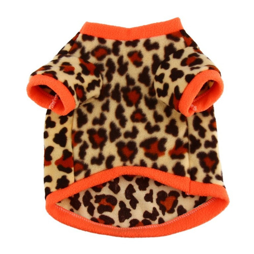 roupa para animal de estimação cão cachorro macia onça