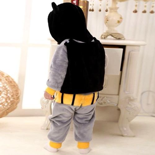 roupa para bebês na fantasia de batman g