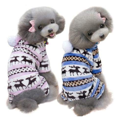 roupa para cachorro/ gato macacão para frio