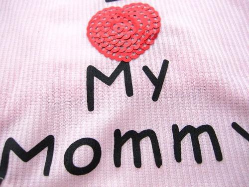 roupa para cães - i love my mommy