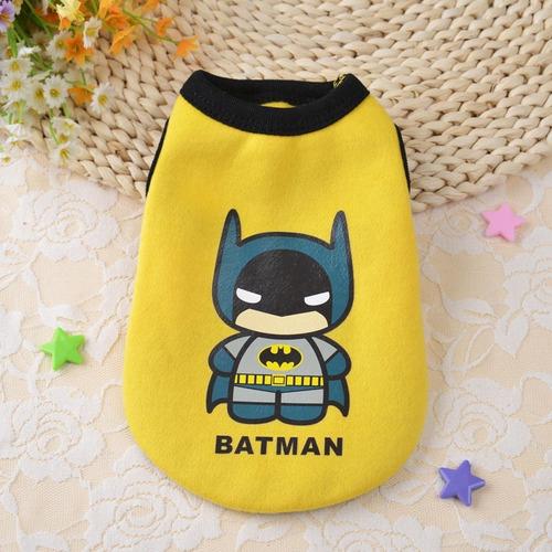 roupa pet heróis - batman - tamanho g
