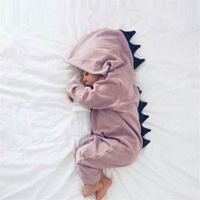 dab142869 Roupa Roupinha Dinossauro Bebê Macacão Dino Fantasia Baby - R  49
