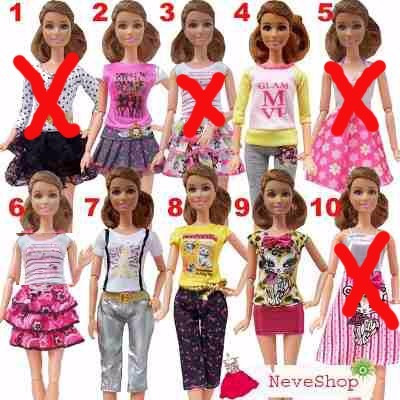roupa vestido calça boneca blythe pullip barbie licca