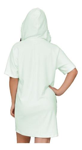 roupao banho feminino ziper  felpudo manga luxo plus size