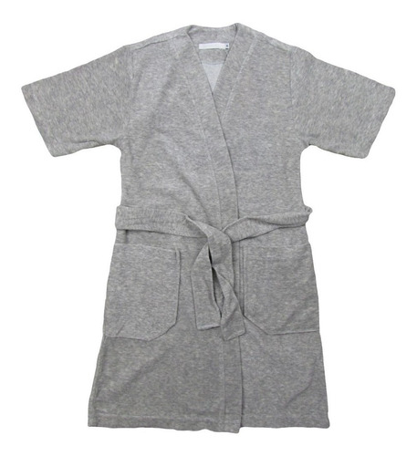 roupao infantil atoalhado manga curta