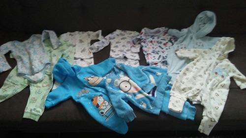 roupas bebê kit rn p conjuntos menino usada