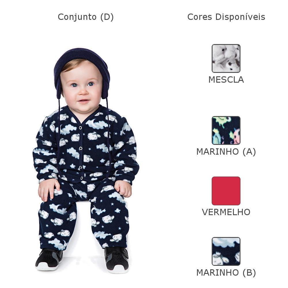 Roupas De Bebê Menino Kit 4 Conjuntos Isensee Inverno - R  209 0dbadb53ed9