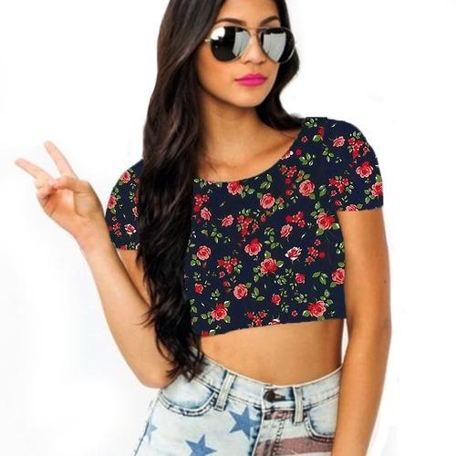 roupas blusa cropped
