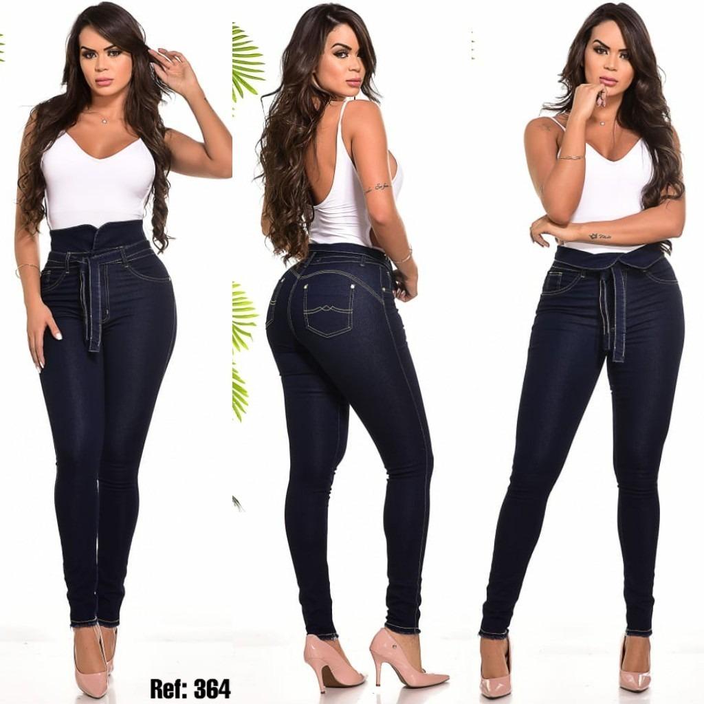 Roupas Calça Jeans Feminina Estilo Pitbull Levanta Bumbum ...