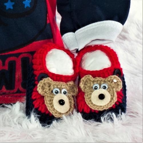 roupas de bebê kit 4 peças menino