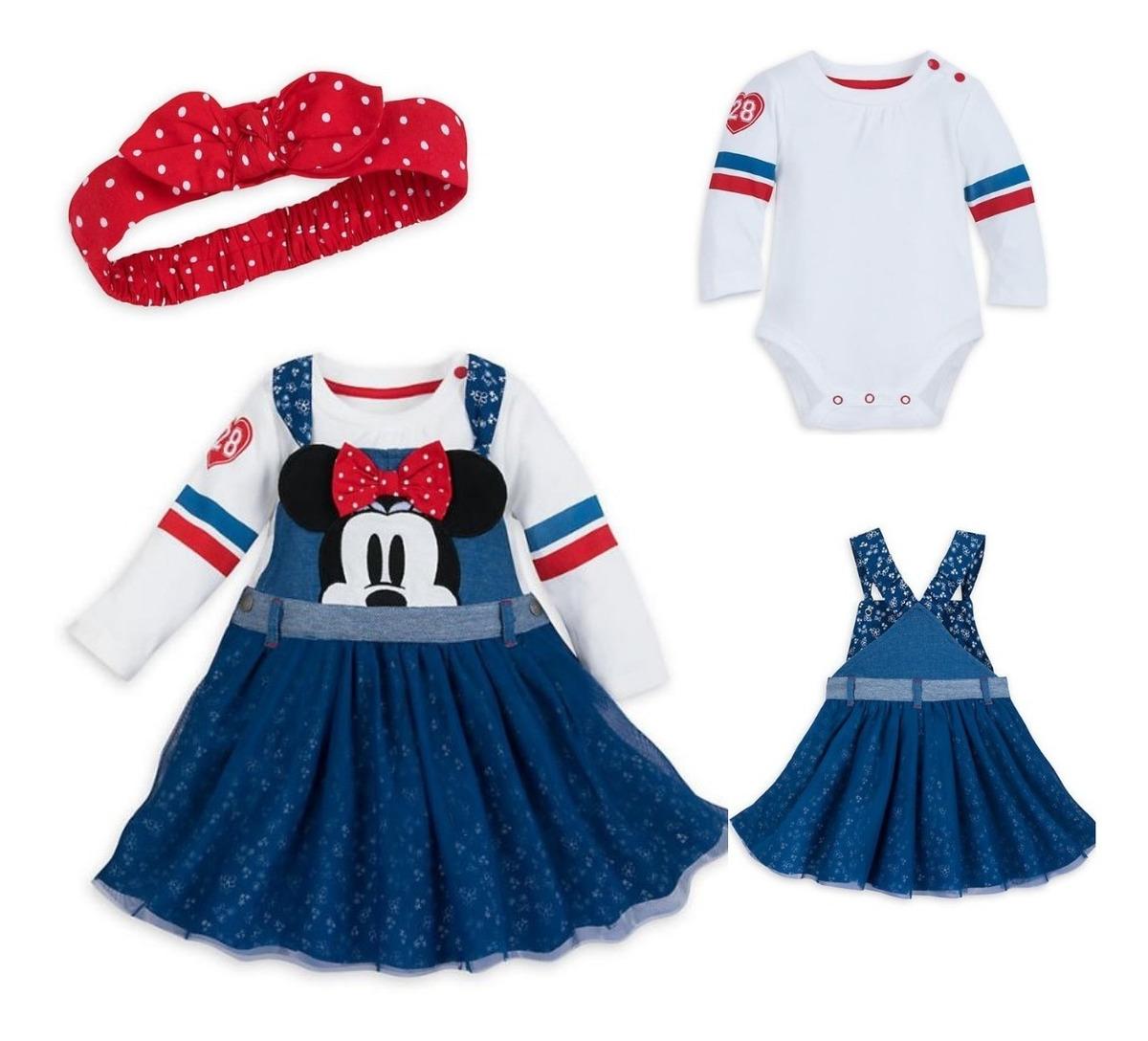 20554a1f48862 roupas de bebe menina vestido da minnie disney original. Carregando zoom.