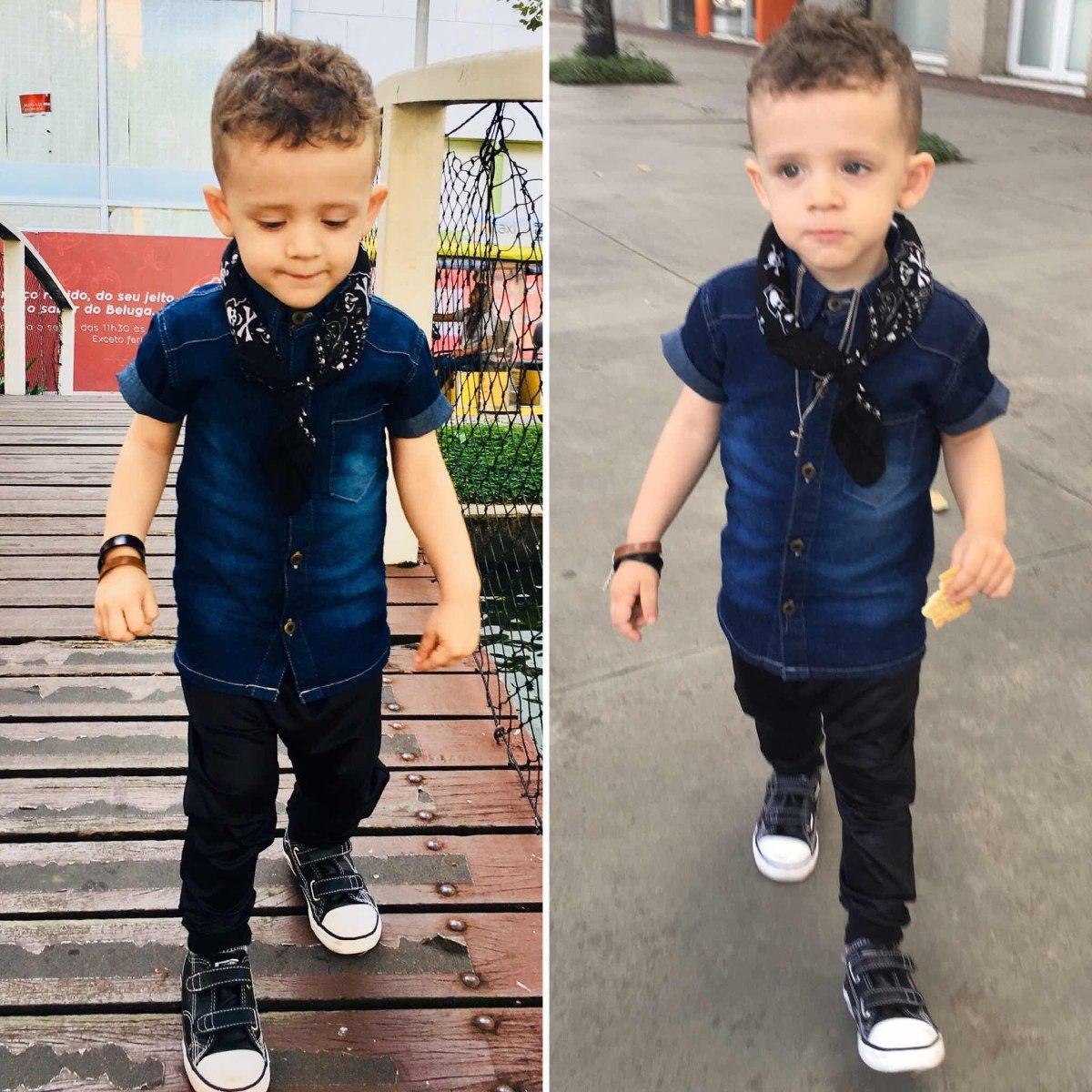 roupas estilosas para meninos  swagkids. Carregando zoom. 6a01e44b33a