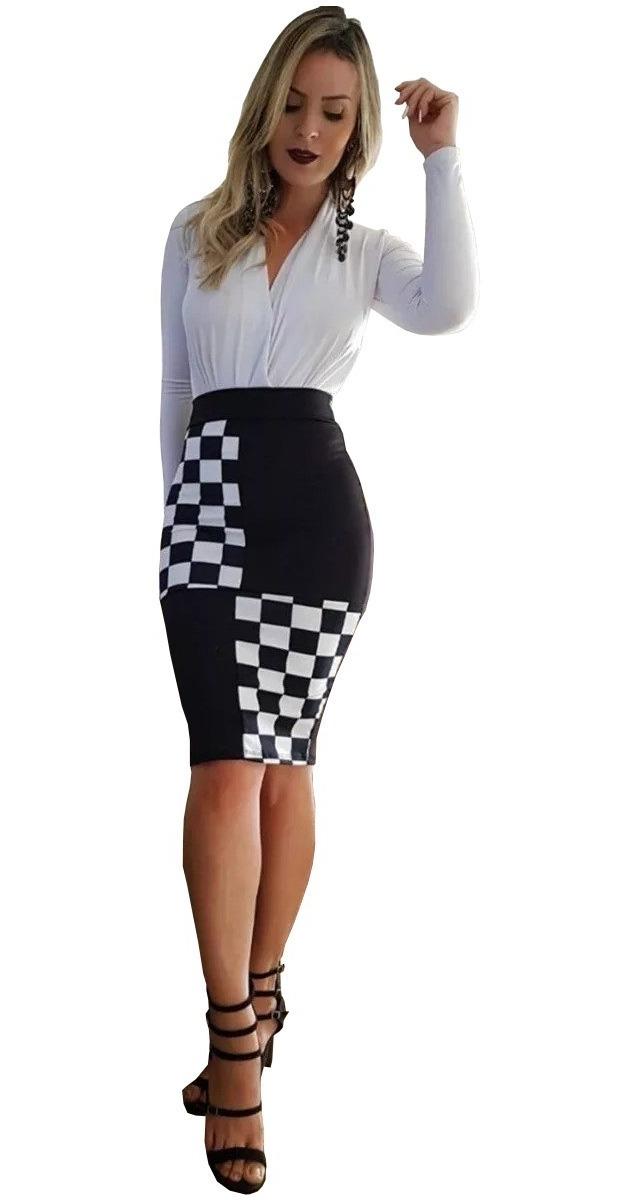 a34eb4947 roupas feminina social lápis midi evangélica moda gospel 601. Carregando  zoom.