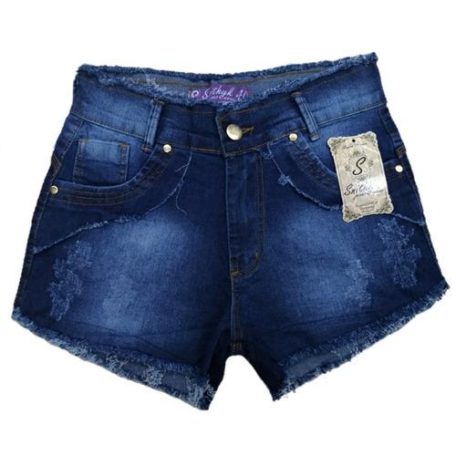 roupas femininas atacado kit de 04 bermuda com lycra