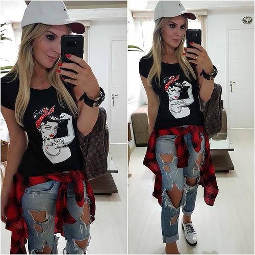 roupas femininas atacado revenda blusa t-shirt kit 9 pc 899