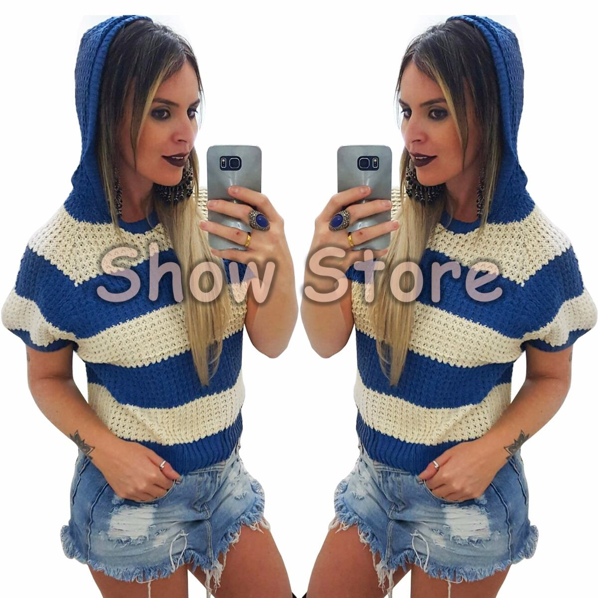 roupas femininas blusa de frio feminina estilo colete 2793. Carregando zoom. 7ec4ccb7423