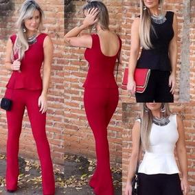 5e4196324 Roupa Social Feminina - Calçados, Roupas e Bolsas Preto com o Melhores  Preços no Mercado Livre Brasil