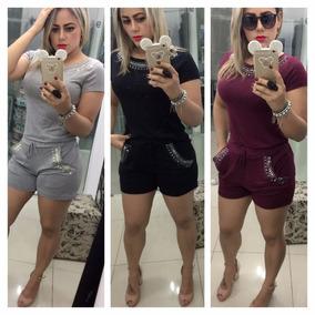 f13478236c Conjuntos De Roupas Femininas Da Moda Adulta - Calçados