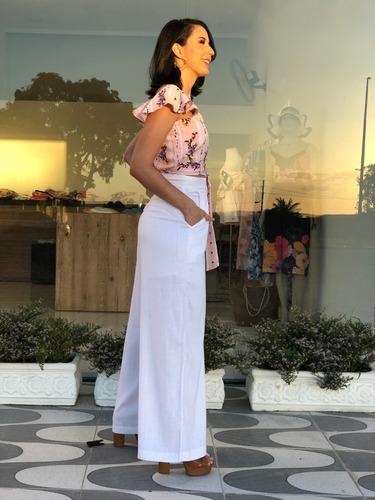 roupas femininas cropped cintinho cintura babado manga