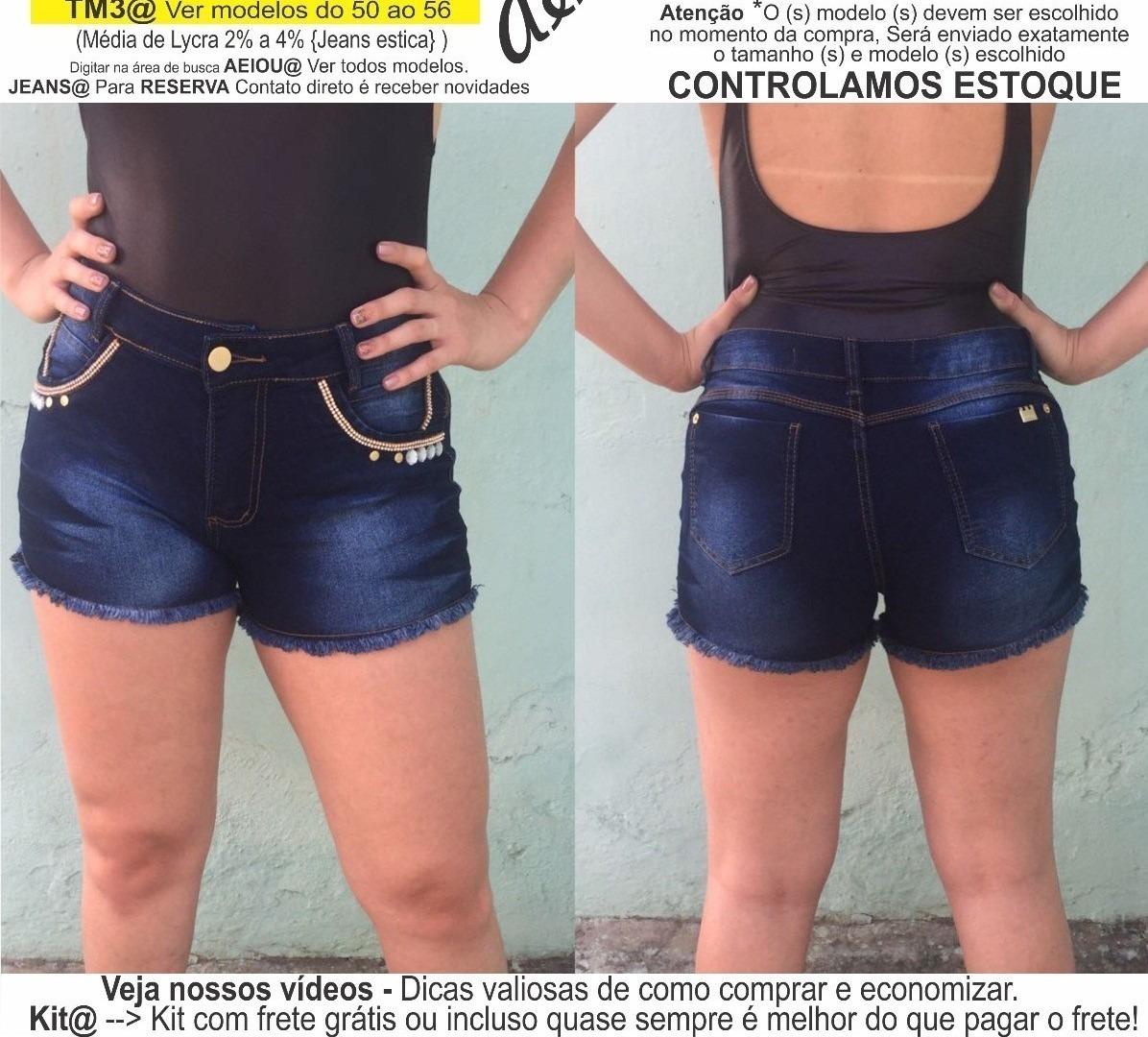 ef671db37f roupas femininas short jeans lycra rasgo pedras unli  shpm17. Carregando  zoom.