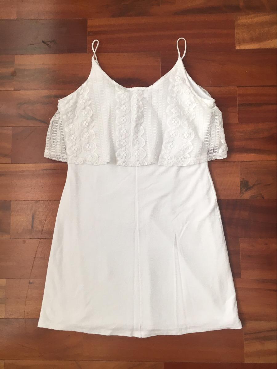 9662fce02c roupas femininas vestido c a tam g branco. Carregando zoom.