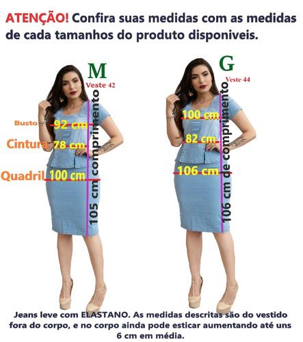 roupas femininas vestido midi moda evangélica elastano r0026