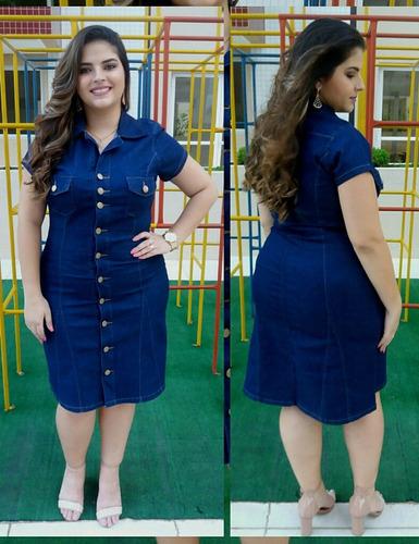 roupas femininas vestido plus size elastano promoção 020