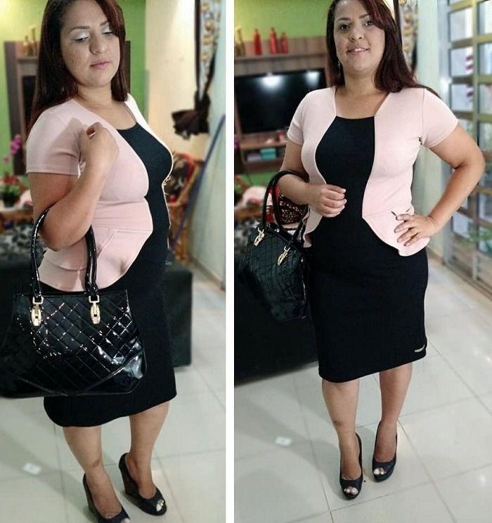 ce1a4fa69ff8 Roupas Femininas Vestido Plus Size Moda Lindo Promoção - R$ 69,99 em ...