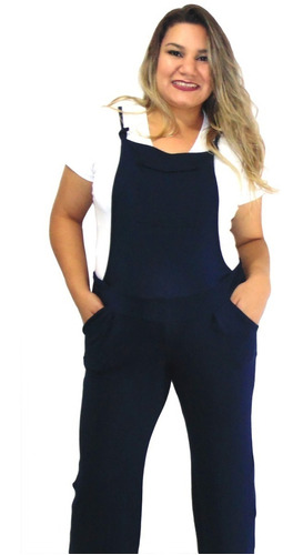 roupas gestante kit 2 jardineira  + brinde