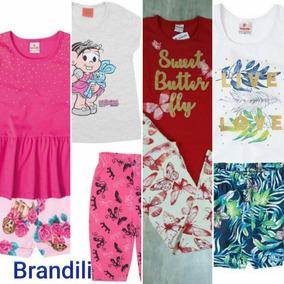 dd20f5071a Roupas Infantil Brandili Fem.tam. 8 Anos Escolha Um Conjunto