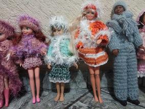 d74ec526074d Roupa Croche Barbie - Acessórios para Bonecas Roupas de Bonecas no ...