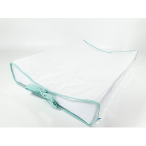 7311d4406be1d Trocador Para Bebê Branco Com Laços Tiffany Lindooo