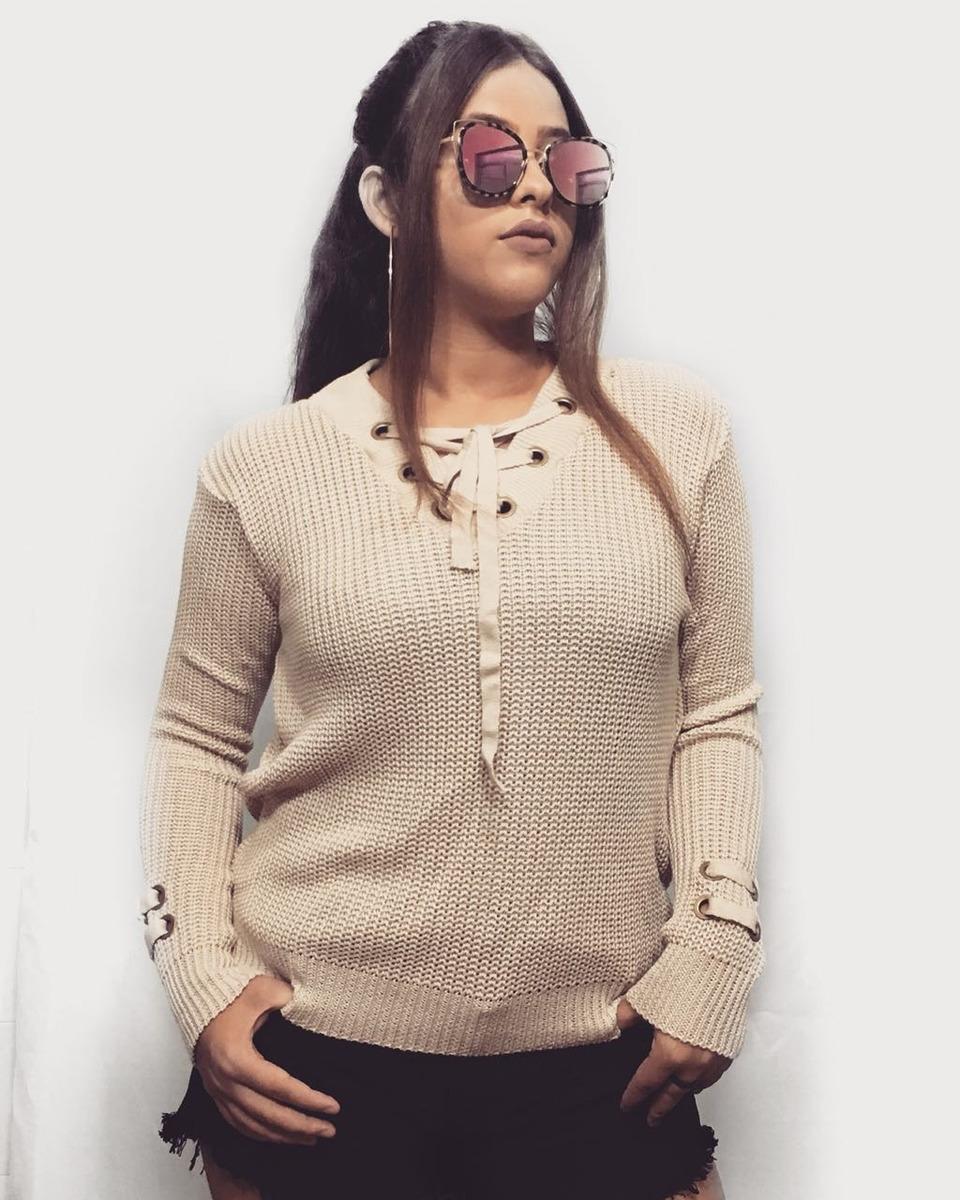 094636d5cc roupas tricot atacado blusas de lã moda feminina a. Carregando zoom.