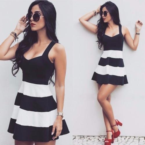 roupas vestido curto alça