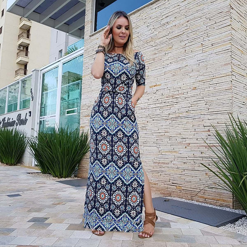 roupas vestido longo