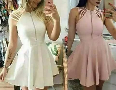 058a6ad7d Roupas Femininas Vestidos Femininos Curto Juju Salimene - R$ 65,00 ...