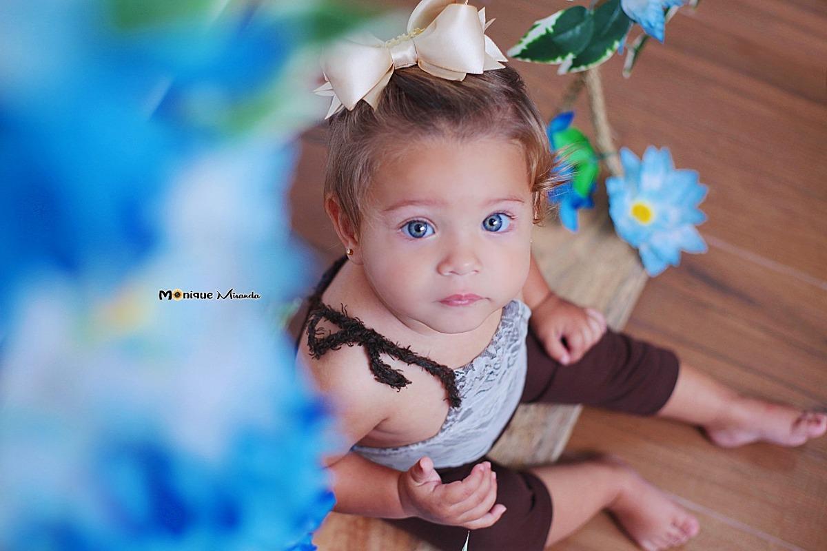 Roupinha Ensaio Fotográfico Newborn E Acompanhamento Menina. - R  45 ... 672e641b39d