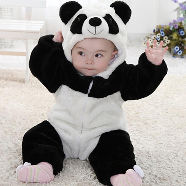 Roupinha Para Bebê Bichinhos Modelo Panda - R$ 107,99 em ...