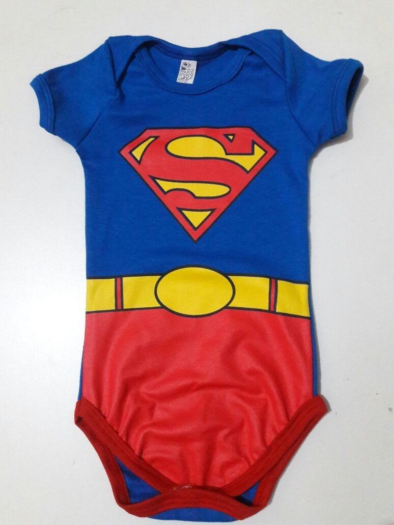 roupinha super man mickey menino bebê. Carregando zoom. 75df0c90603
