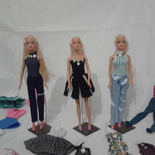 roupinhas da barbie calças vestidos saias (1 unidade)