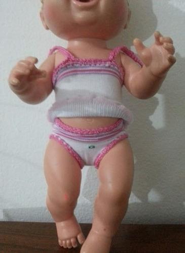 roupinhas de pano para bonecas baby alive e semelhantes