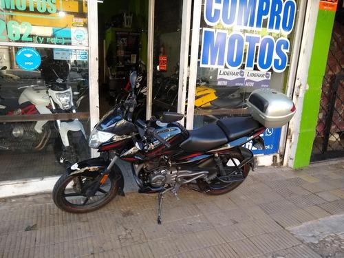 rouser 135 negra anticipo  $57000 alfamotos whats 1127622372