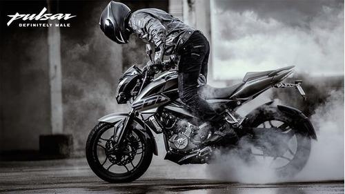 rouser 200 motos moto bajaj