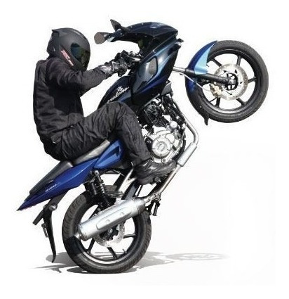 rouser 220cc - motozuni  f. varela