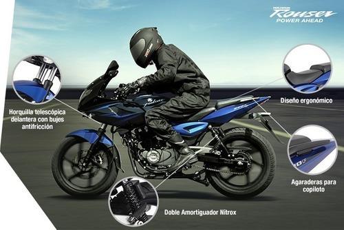 rouser 220cc - motozuni  ramos