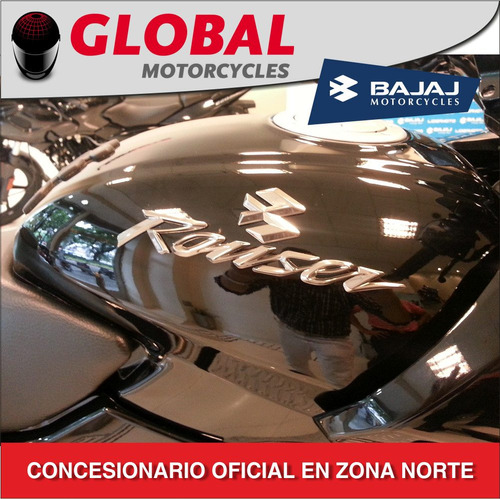rouser 220f bajaj 0km entrega inmediata global motorcycles