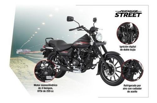 rouser avenger street 220cc - motozuni  banfield