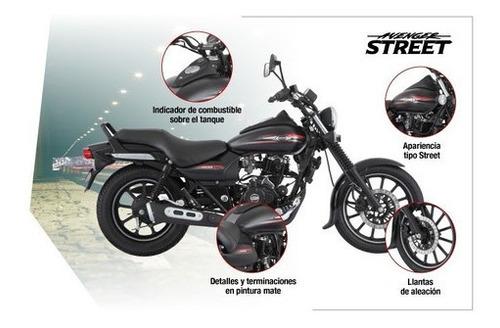 rouser avenger street 220cc - motozuni  f. varela
